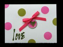 Polka Dot Love Greeting Card
