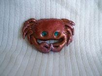 Sea Crab Pin
