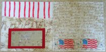 4th of July premade pages