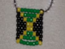 Jamaica Flag Necklaces