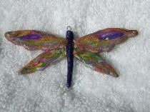 Mirror Image Dragonfly pendant