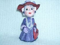 Red Hat Lady ornament  1