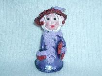 Red Hat Lady ornament   2