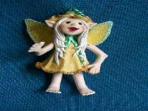 Daffadil  the yellow fairy ornament