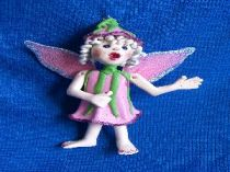 Primmie  the Pink Fairy ornament