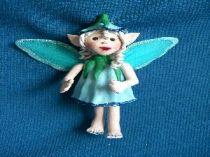 Blue  the Blue Fairy ornament