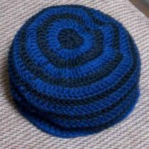 B and B Striped Hat