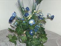 Blue Morning Glory Delphinium Arrangement