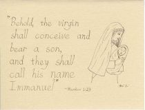 Christmas Cards - Mother and Child - Set of 10