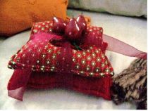Aroma-Therapy Candle Pillow Pads Red Cherry