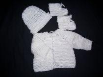 White Baby Set