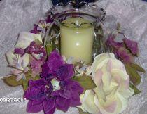 Mauve  Cream Wreath