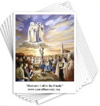 Heavens Call to the Family Note Card