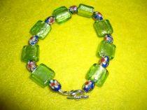 Silver Foil Bracelet 001