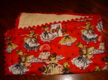 Vintage Birthday Party Baby Blanket
