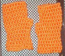 Citrus Fingerless Gloves