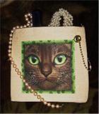 Unique cats mini purse