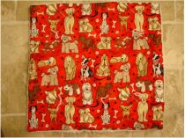 Red Puppies Pet Mat