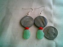 Water and Fire Earrings