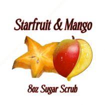 Starfruit  Mango 8oz Organic Sugar Scrub