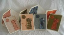 Set of 4 Blank Greeting Cards