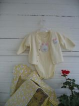 Baby Onesie with Matching Jacket