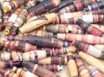 Paper Beads Brown Earth