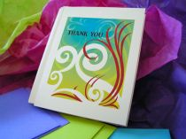 Swirl Beauty Notecards