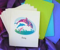 Hawaiian Dolphins Notecards